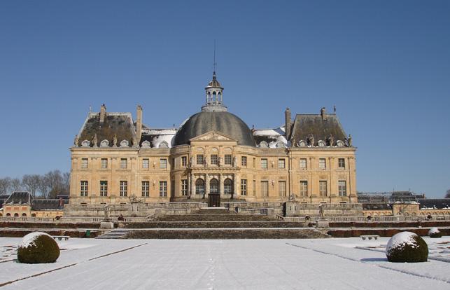 Christmas At French Chateau Vaux Le Vicomte 56paris